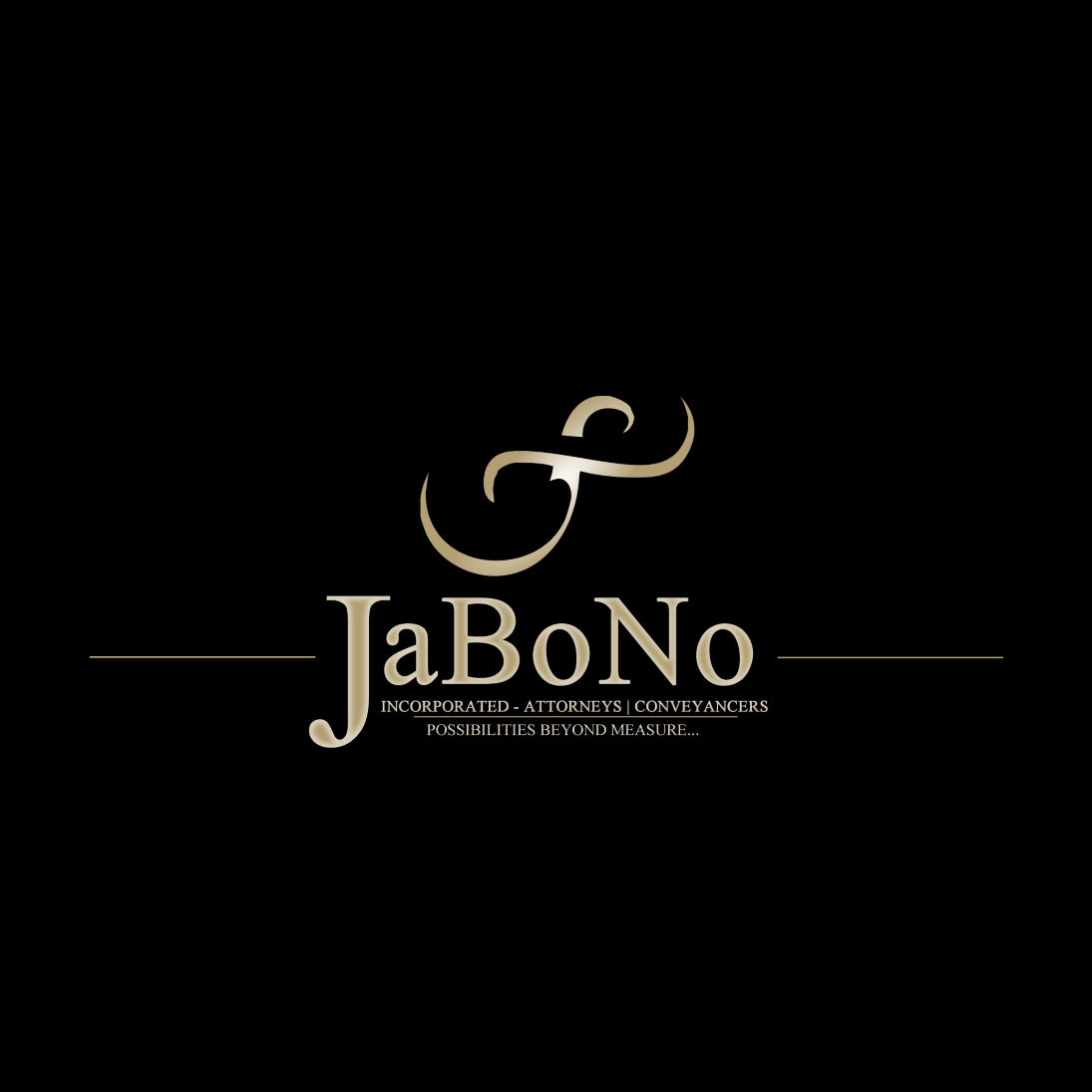Jabono logo black and gold by Nkolex (pty) ltd